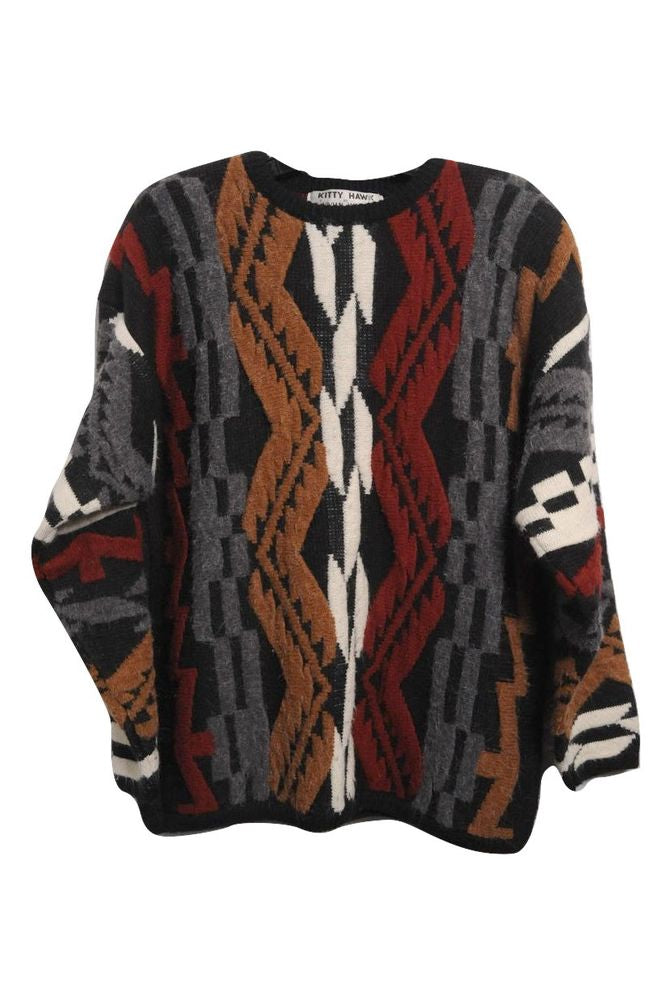 Black Grandpa Sweater