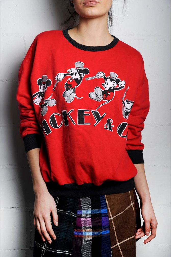 Red Mickey & Co. Sweatshirt