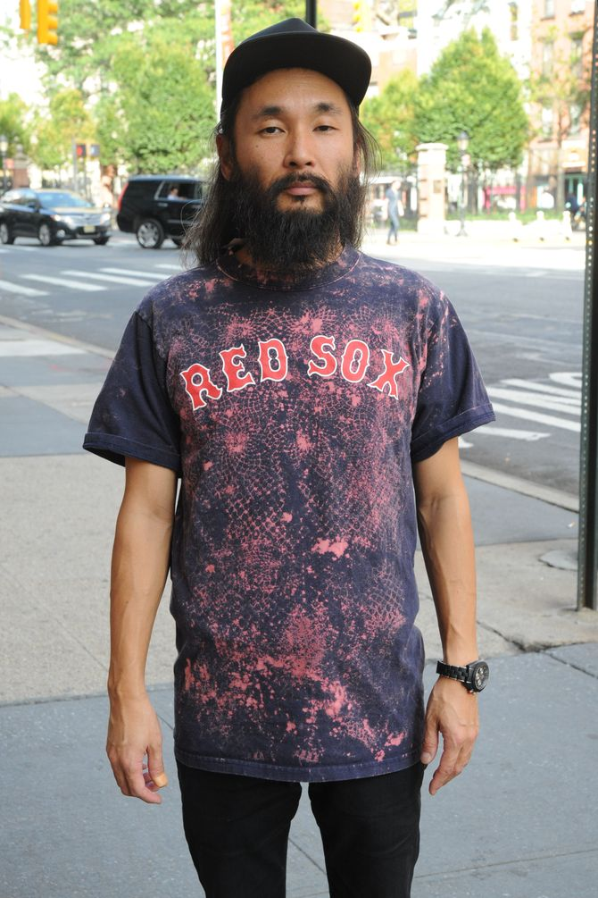 Red Sox Bleached Tee