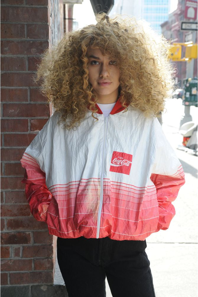 Coca Cola Colorblock Windbreaker
