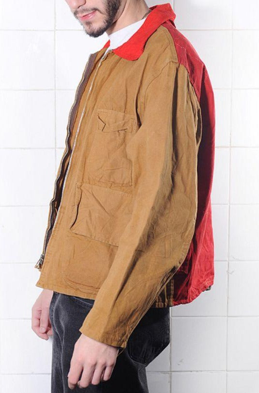 Full of Pockets Rain Repelent Jacket