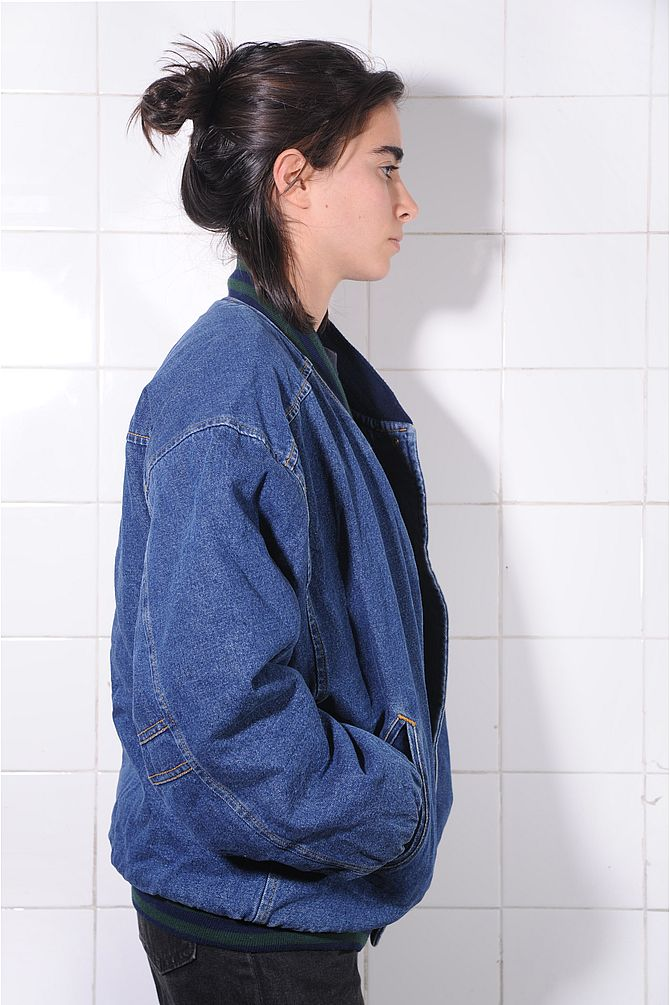 Winter Denim Jacket
