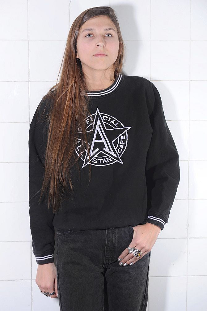 Black All Star Cafe Sweatshirt