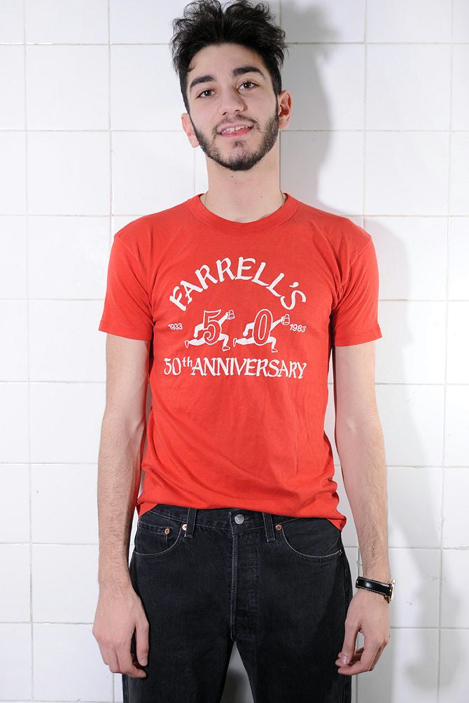Red 50th Anniversary Tee