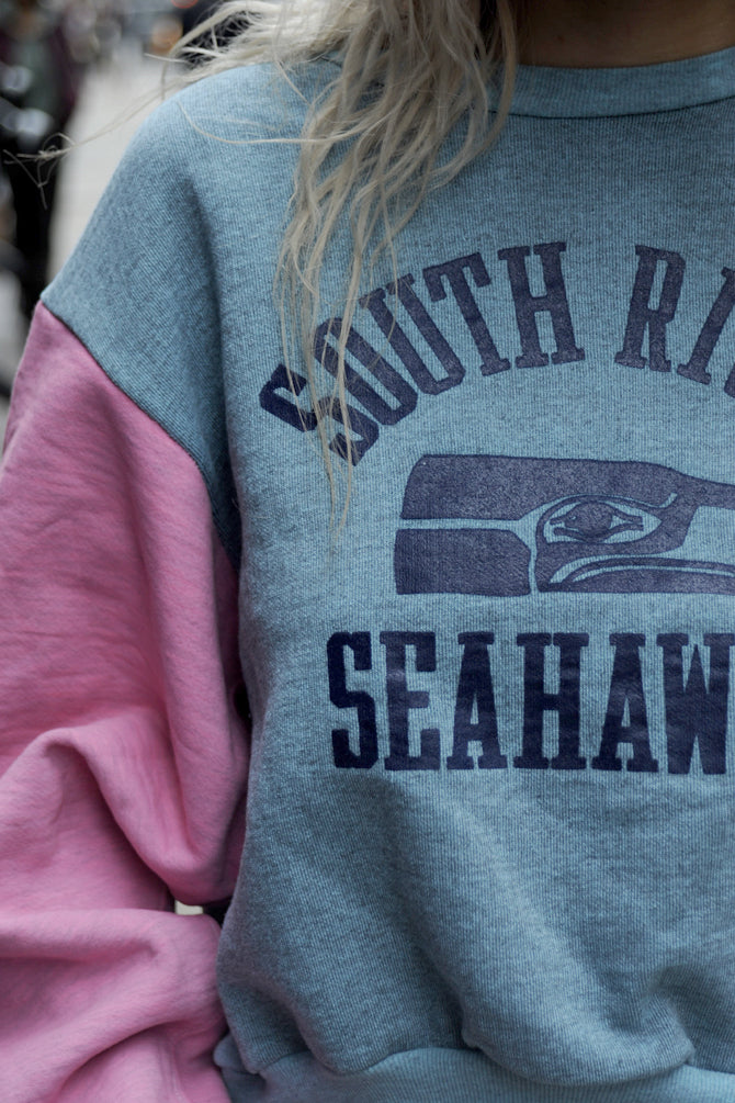 South River Seahawks Cropped Sweatshirt