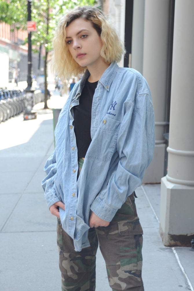 Yankees Denim Shirt