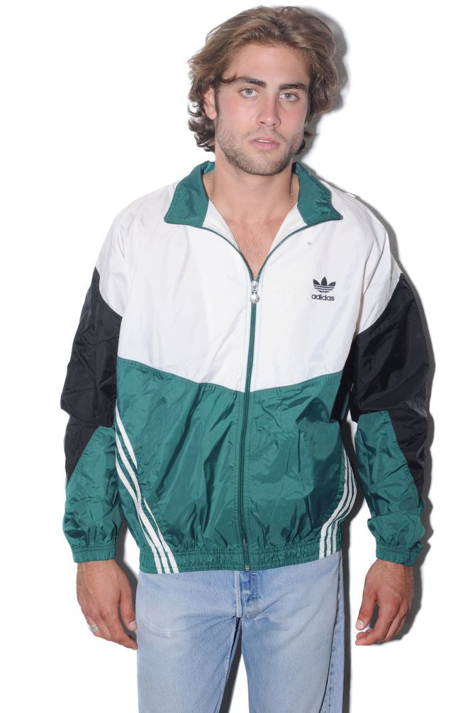 Adidas Colorblock Windbreaker