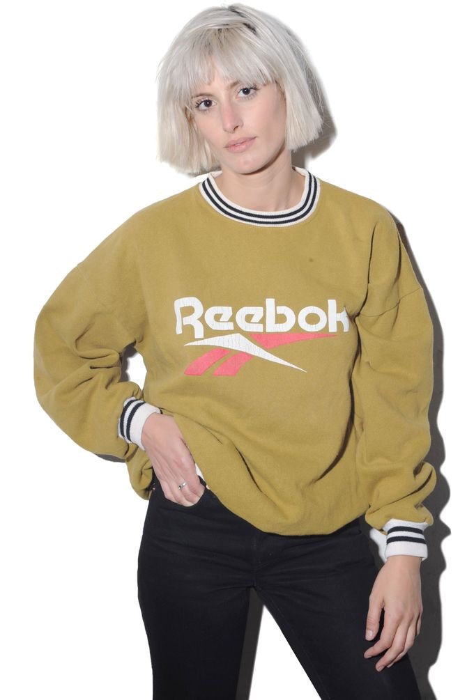 Reebok Yellow Sweatshirt