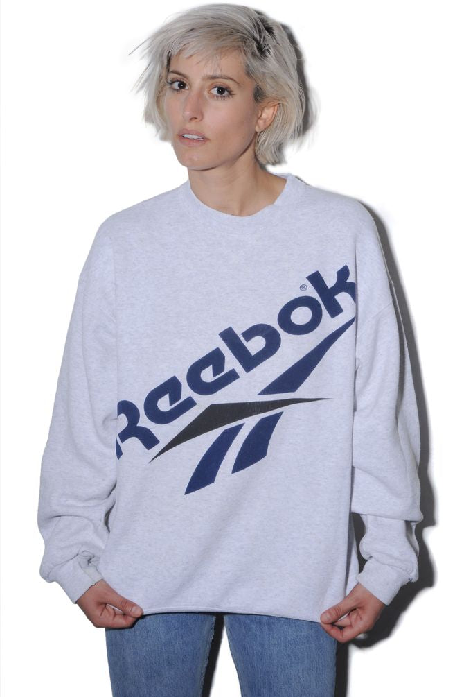 Reebok Gray Sweatshirt