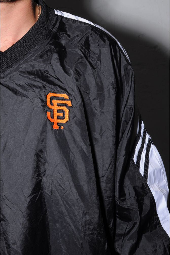 Adidas San Francisco V-Neck Pullover Windbreaker