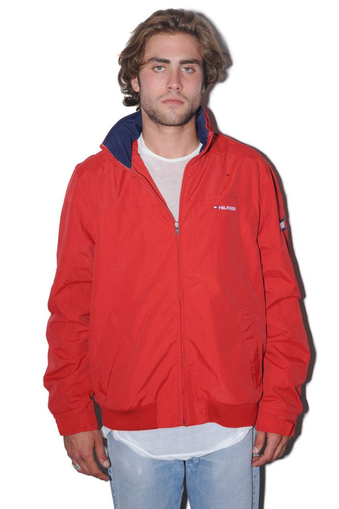 Tommy Hilfiger Red Windbreaker