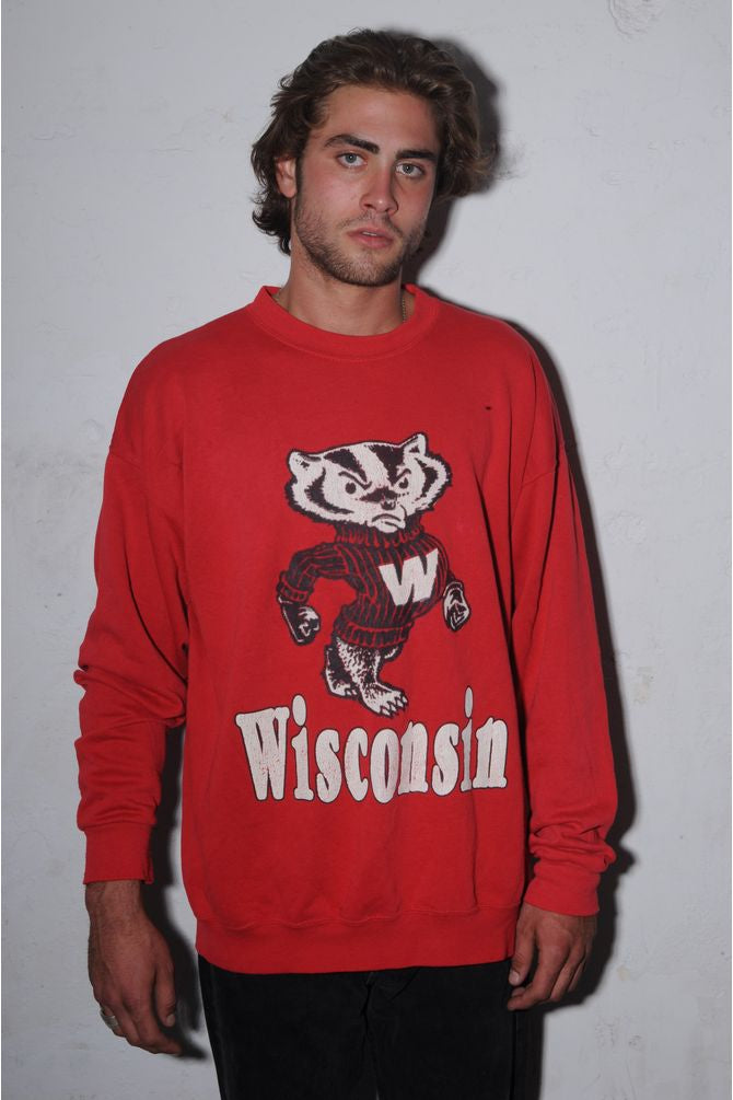 Wisconsin University Badgers Sweatshirt