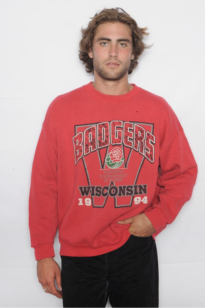 Wisconsin Badgers Red Sweatshirt