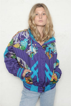 Abstract Print Bomber