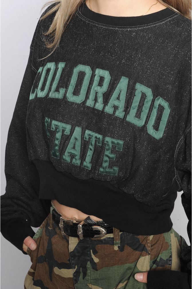 Black Colorado State Sweatshirt