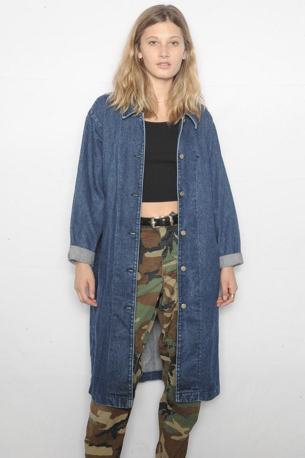 Trench Denim Jacket