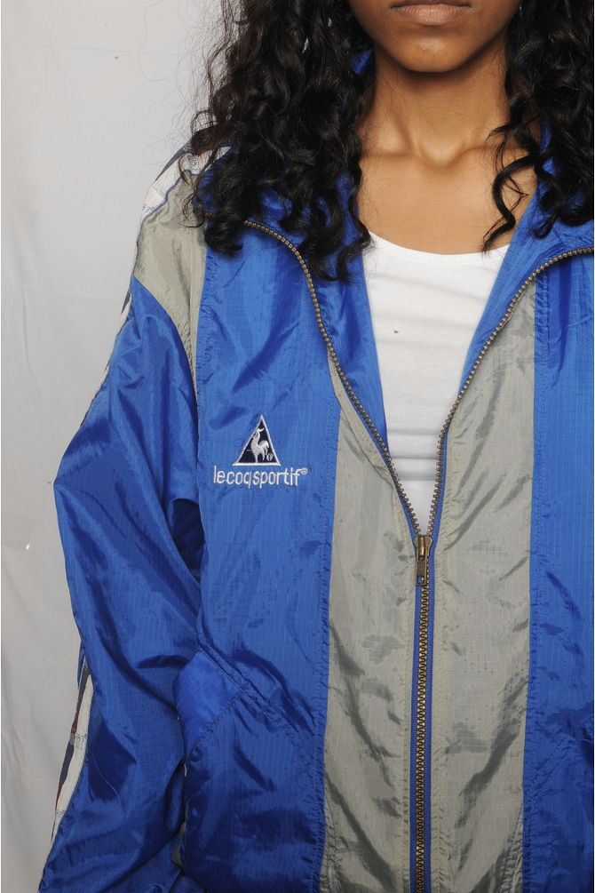 Le Coq Sportif  Colorblock Windbreaker