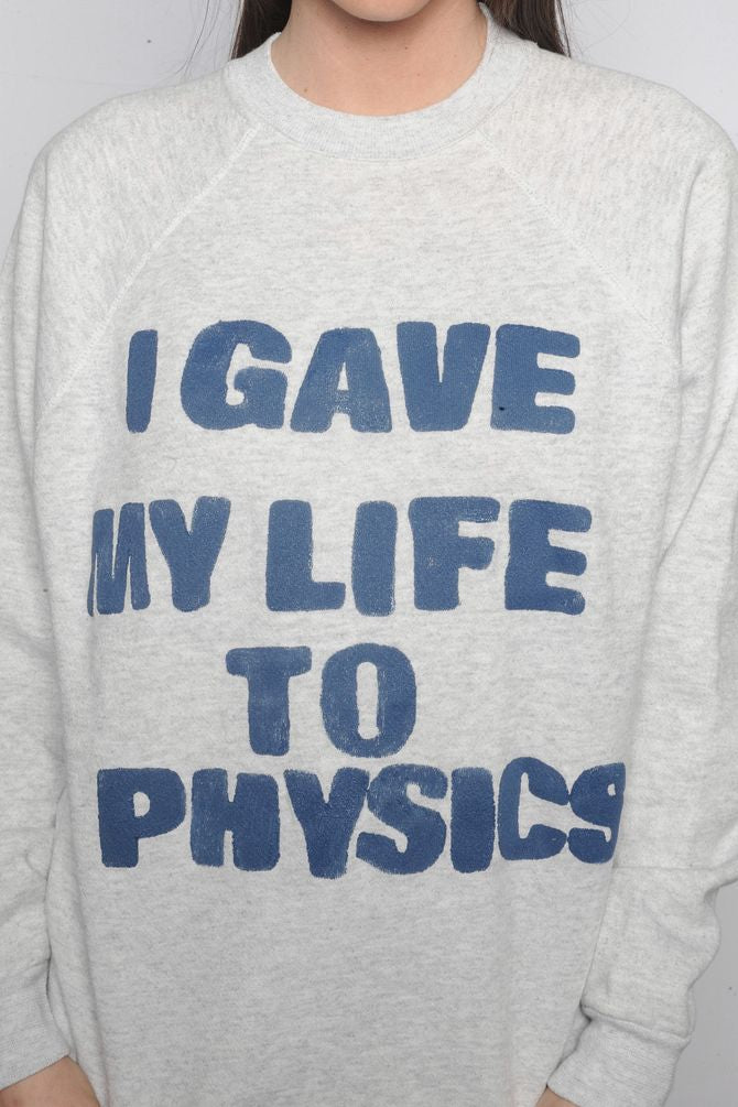 Gray Physics Sweatshirt