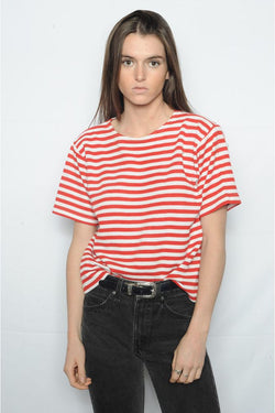 Red Striped Tee