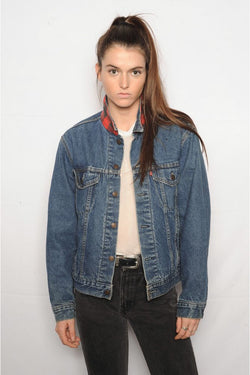 Levi's Flannel Lined Denim Jacket