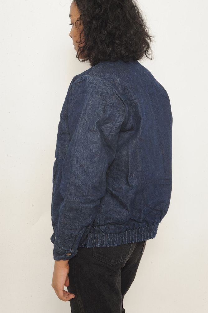 Levi's Plaid Lined Denim Bomber