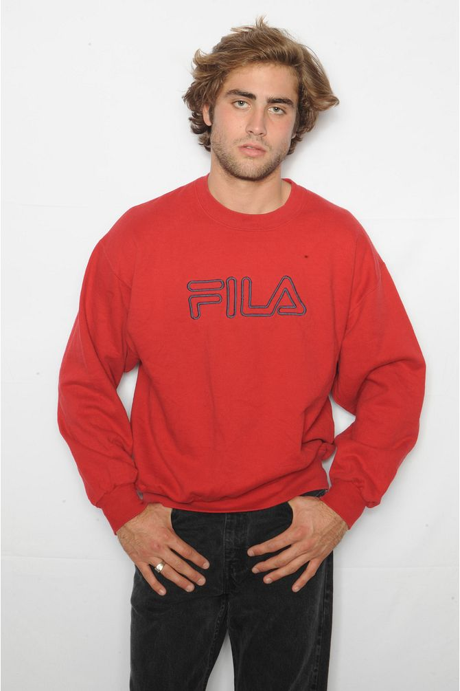 Red FILA Sweatshirt