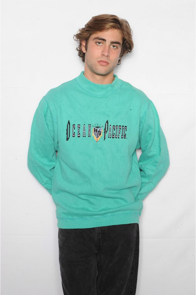 Teal Ocean Pacific Sweatshirt