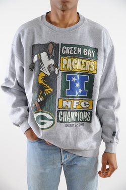 sale retailer a92bc 2fa2f Green Bay Packers 1997 Starter Sweatshirt – The Vintage Twin