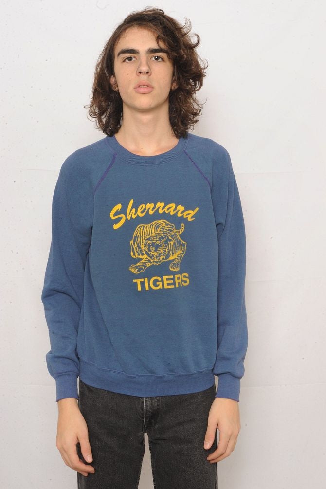 Blue Sherrard Tigers Sweatshirt