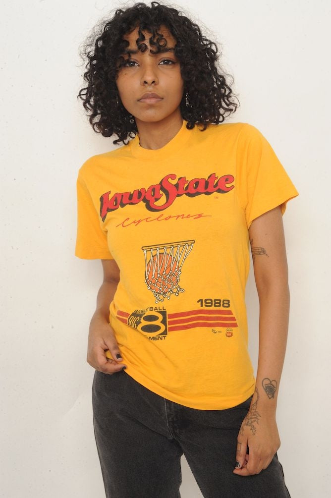 1988 Iowa State Basketball Tee