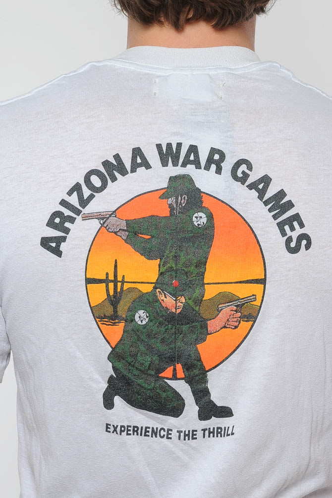 White AZ War Games Tee