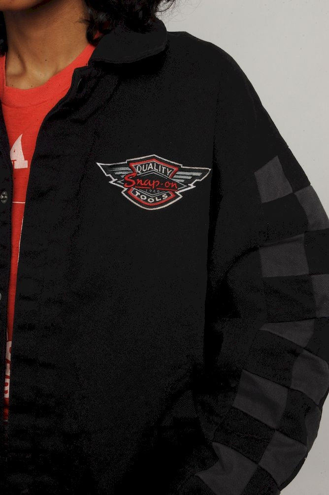 Snap On Bomber Jacket