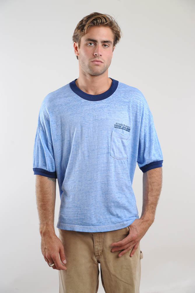 Light Blue Ready Machine Tee