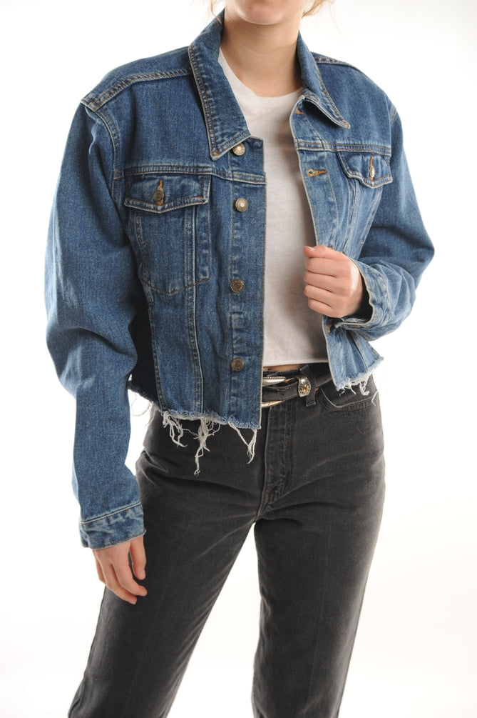 Cropped Ralph Lauren Denim Jacket
