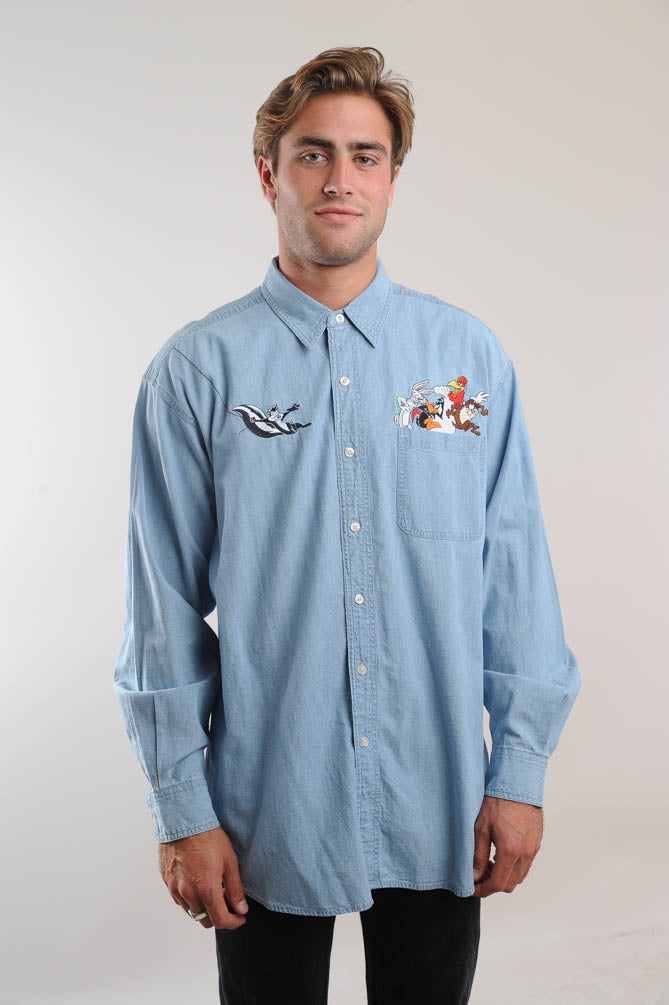 Looney Tunes Denim Shirt