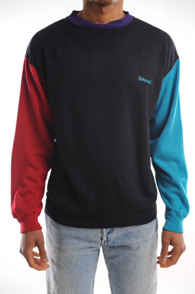 Spalding Colorblock Sweatshirt