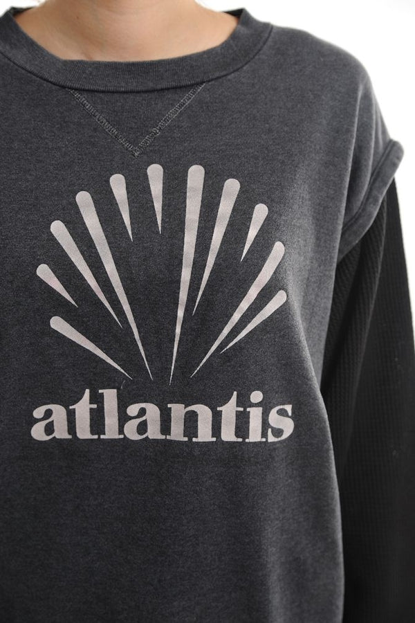 Thermal Sleeve Atlantis Sweatshirt