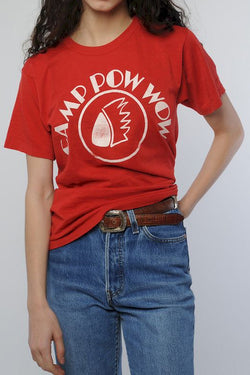 Red Camp Pow Wow Tee
