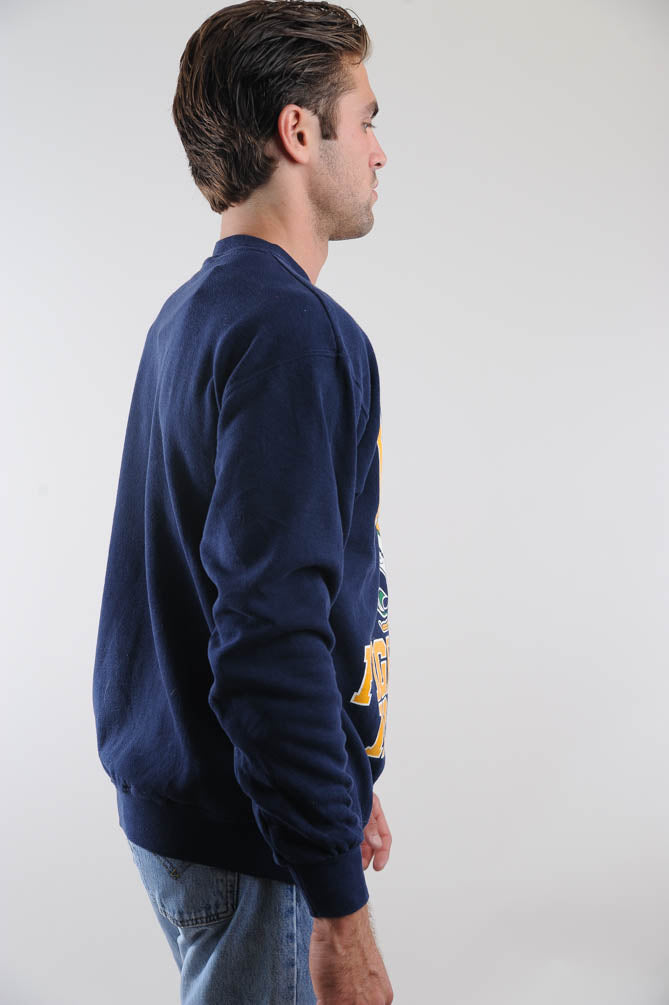 Navy Notre Dame Fighting Irish Sweatshirt