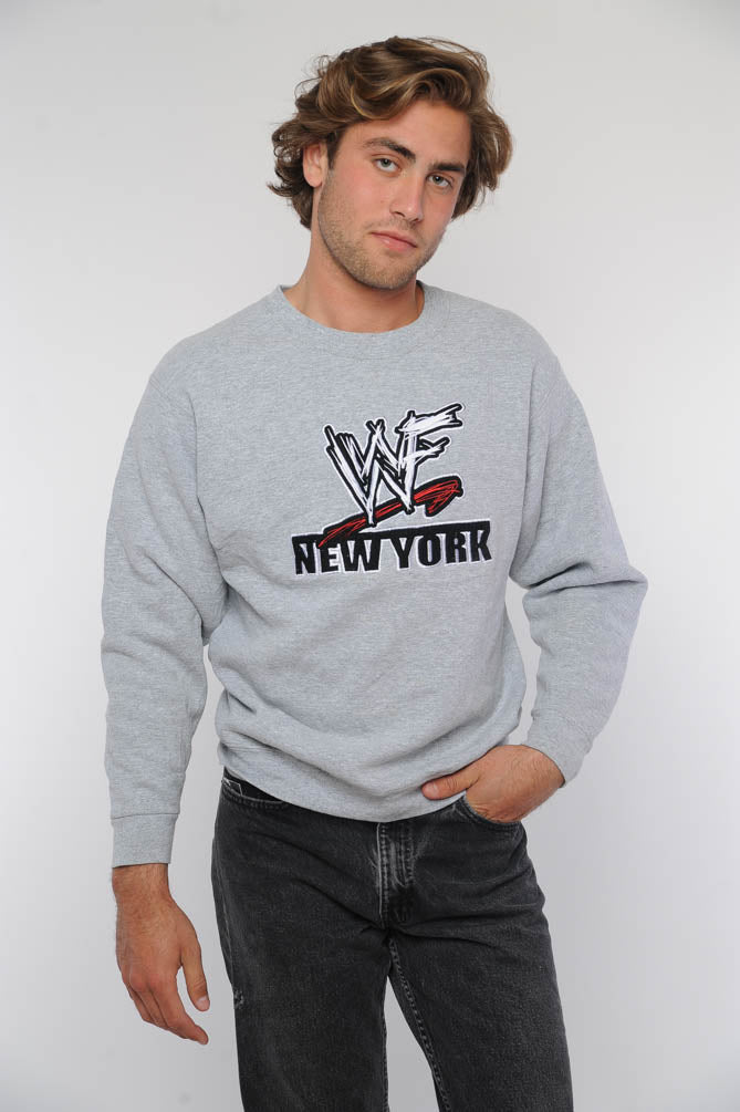 Gray WWF New York Sweatshirt