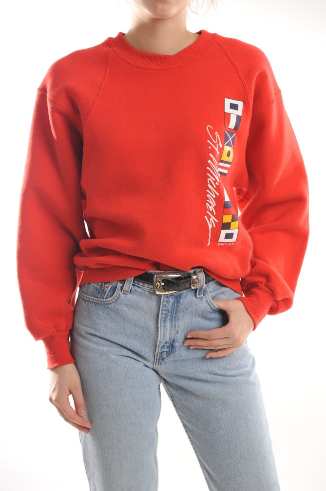 Red St. Michaels Sweatshirt