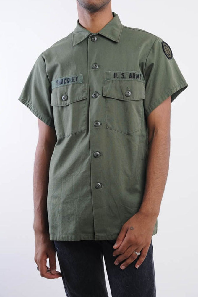 US Army Short Sleeve Button Down
