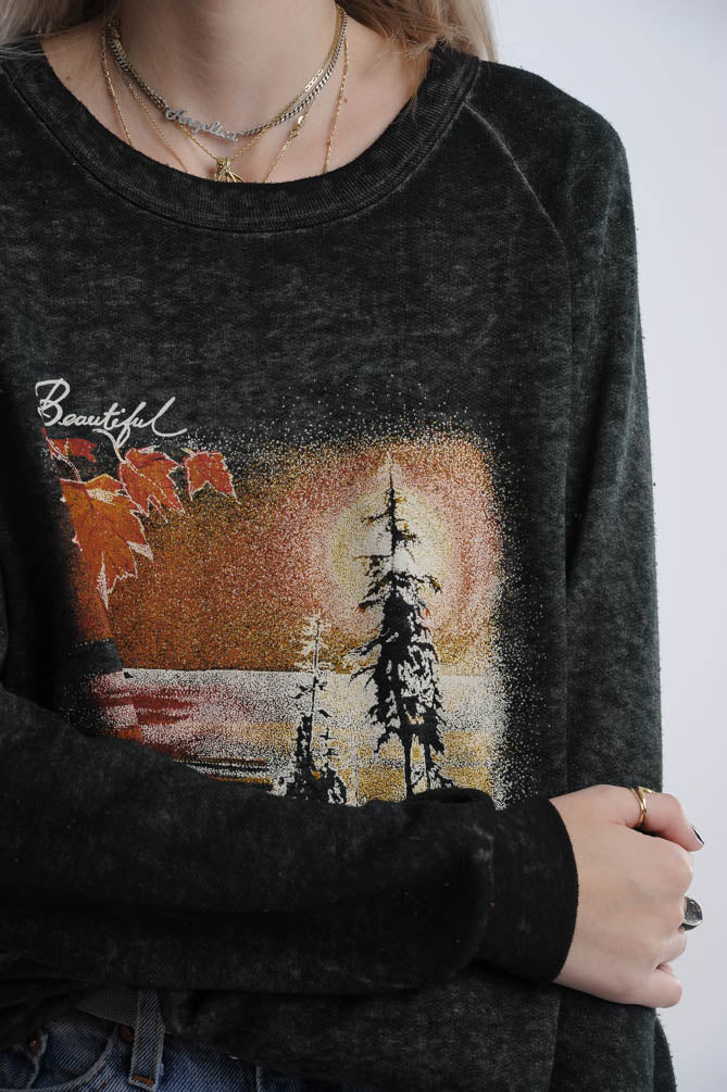 Beautiful Canadian Landscape Sweatshirt