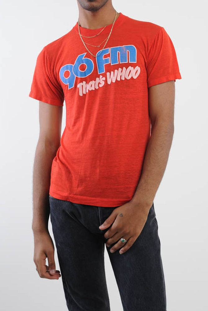 Red 96 FM Tee