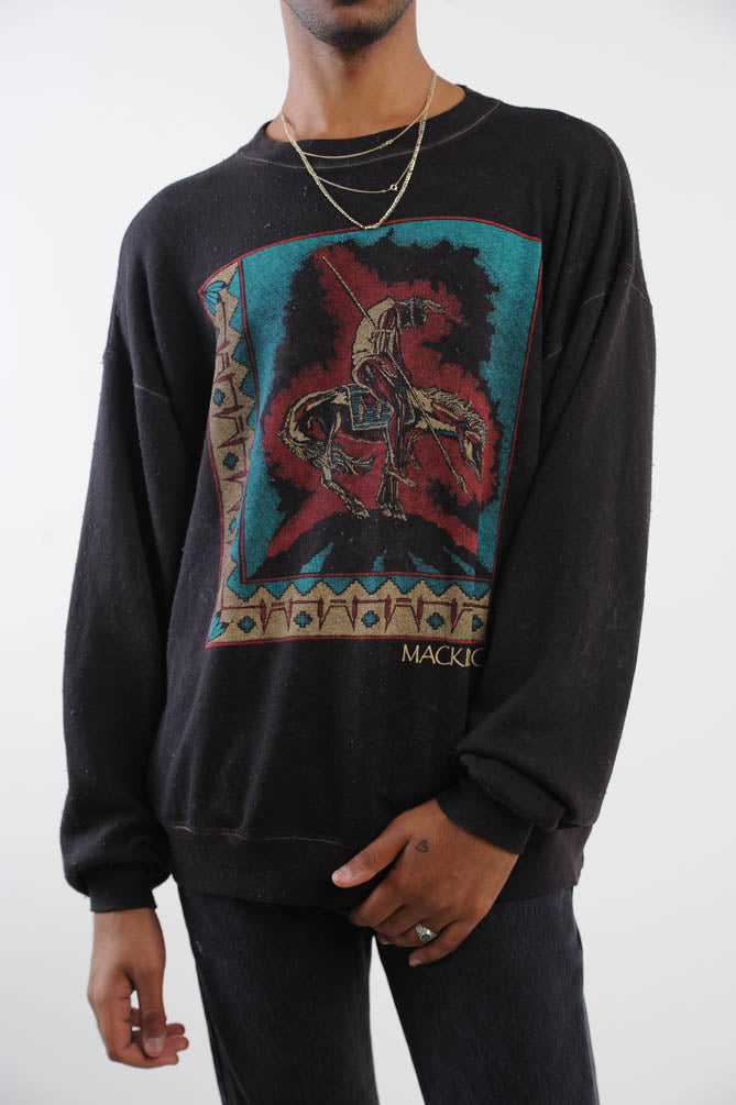 Black Mackinac Sweatshirt