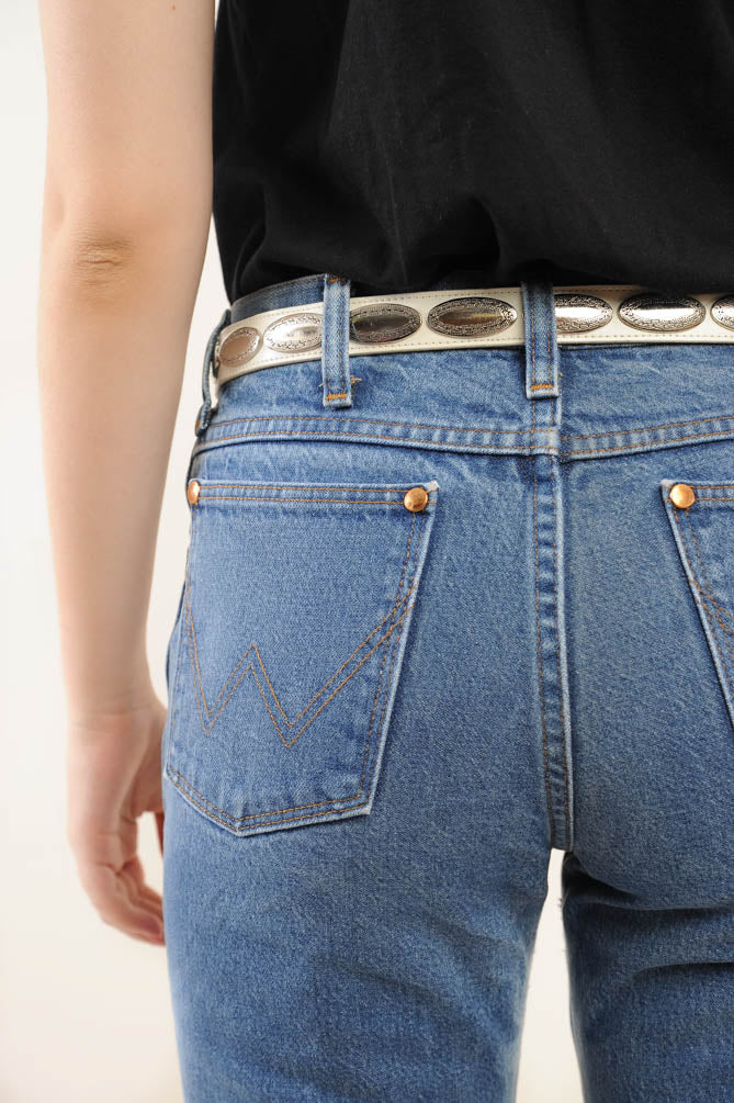 High-Waisted Western Coin Belt