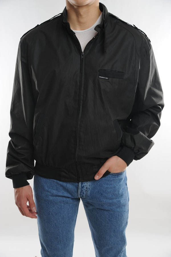 Black Member's Only Jacket