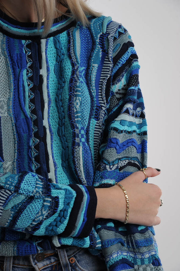 Blue Coogi Sweater