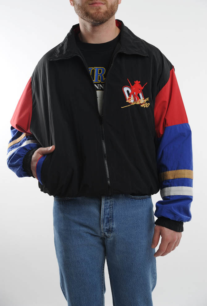 Colorblock Racing Windbreaker