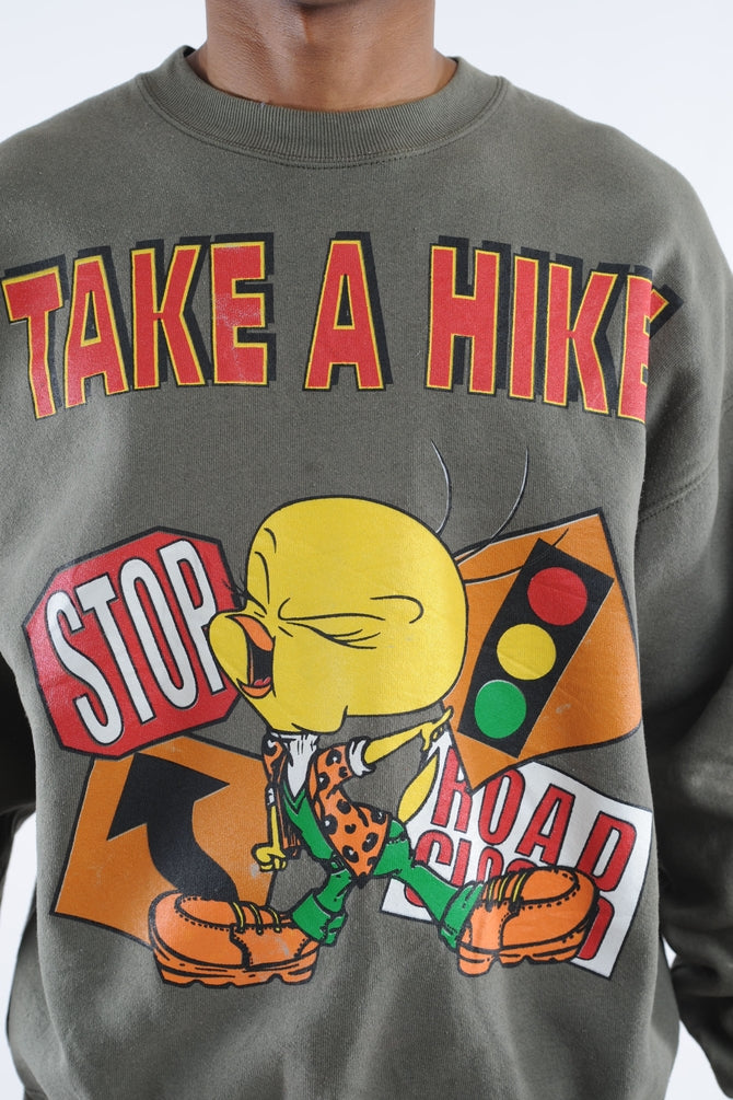Tweety Bird Take A Hike Sweatshirt